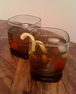 Week 3 Cocktal: The Old Fashioned