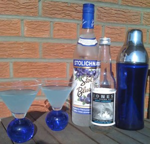 Finale Blues Martini
