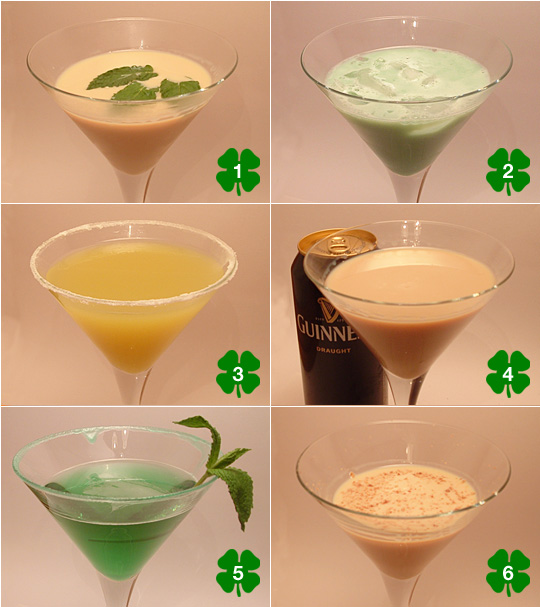 St Patrick's Day Madtinis