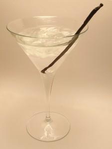 Black and White Martini