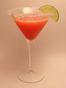 Strawberry-Lime Margarita