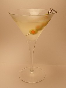 Hot and Dirty Cajun Martini