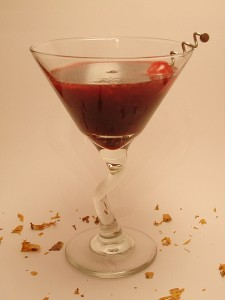 The Blood Lust Martini