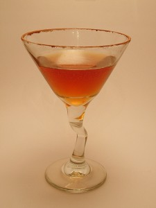 Chcolate-Hazelnut Martini