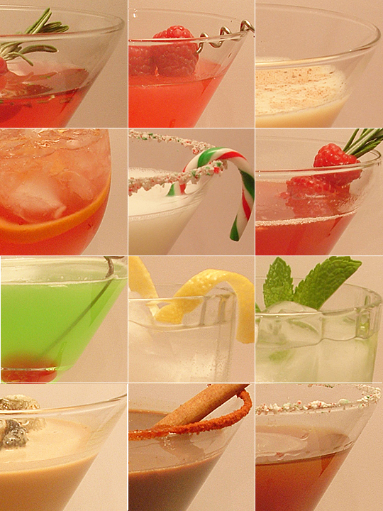12 Days of Madtini Holiday Cocktails