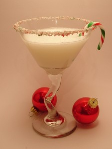 Christmas Cane Martini