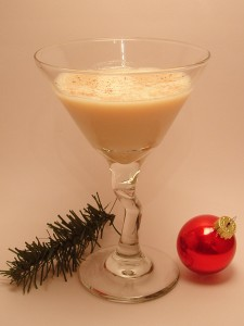 Eggnog Martini