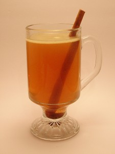 Hot Spiced Butter Rum