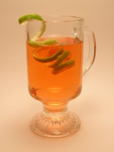Tequila Cranapple Toddy