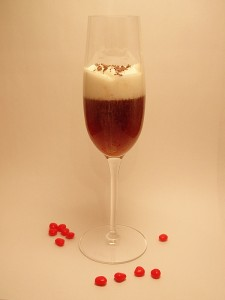Raspberry Truffle Martini