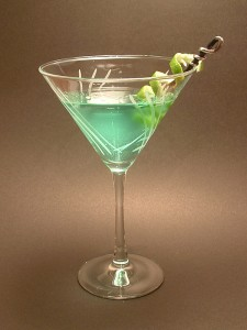 Green Faerie Martini