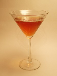 Maple Syrup Martini