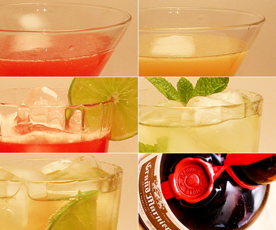 Grand Marnier cocktails