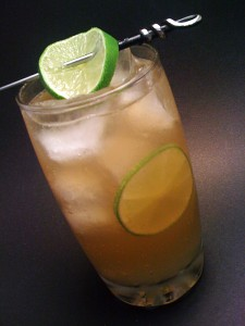 The Spicy Ginger Sailor Cocktail