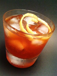 Balsamic Strawberry Cocktail