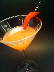 Red Bell Martini