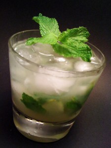 Agave Julep Cocktail