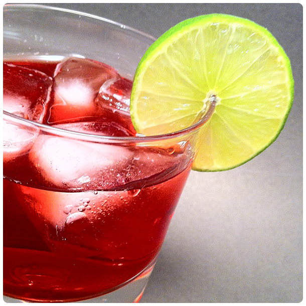 Disaronno &amp; Cranberry Cocktail
